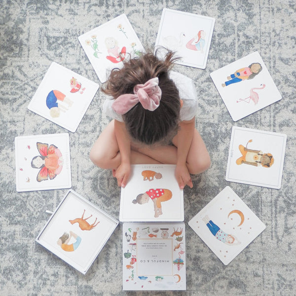 Mindful & Co Yoga Flash Cards for Kids