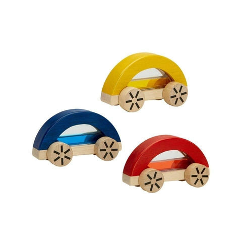 Water filled Wooden Cars from PlanToys