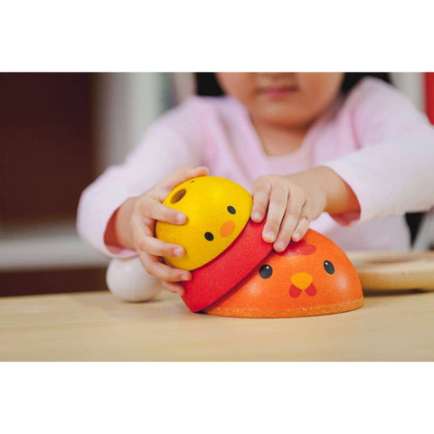 Chicken Nesting Toy by PlanToys