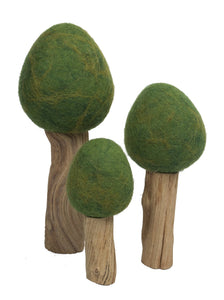Summer Trees by Papoose Set of 3
