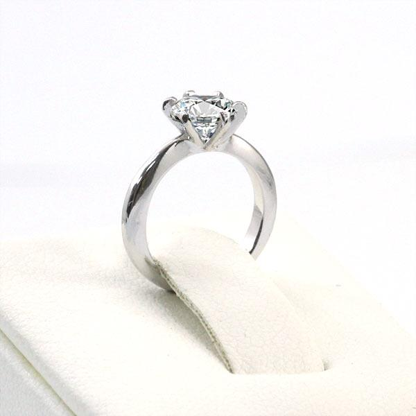 Newborn Baby 925 Sterling Silver Ring Created Diamond Photo Prop