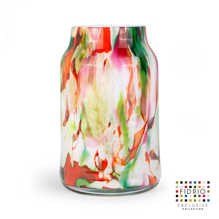 VASE BLOOM LARGE H.30 MIXED COLOURS