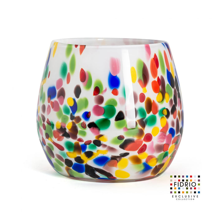 VASE FIORE H.15 CANDY