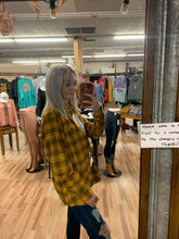 Load image into Gallery viewer, Simply Southern- Parker Mustard Flannel- Guy Fit