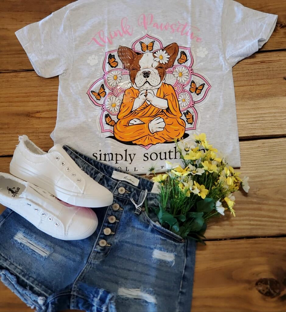 Simply Southern- Pawsitive-Ash