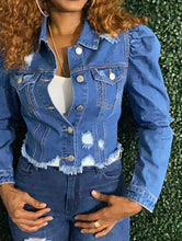Load image into Gallery viewer, Women's Denim Jacket | Not Your Average | My Curvy Secrets