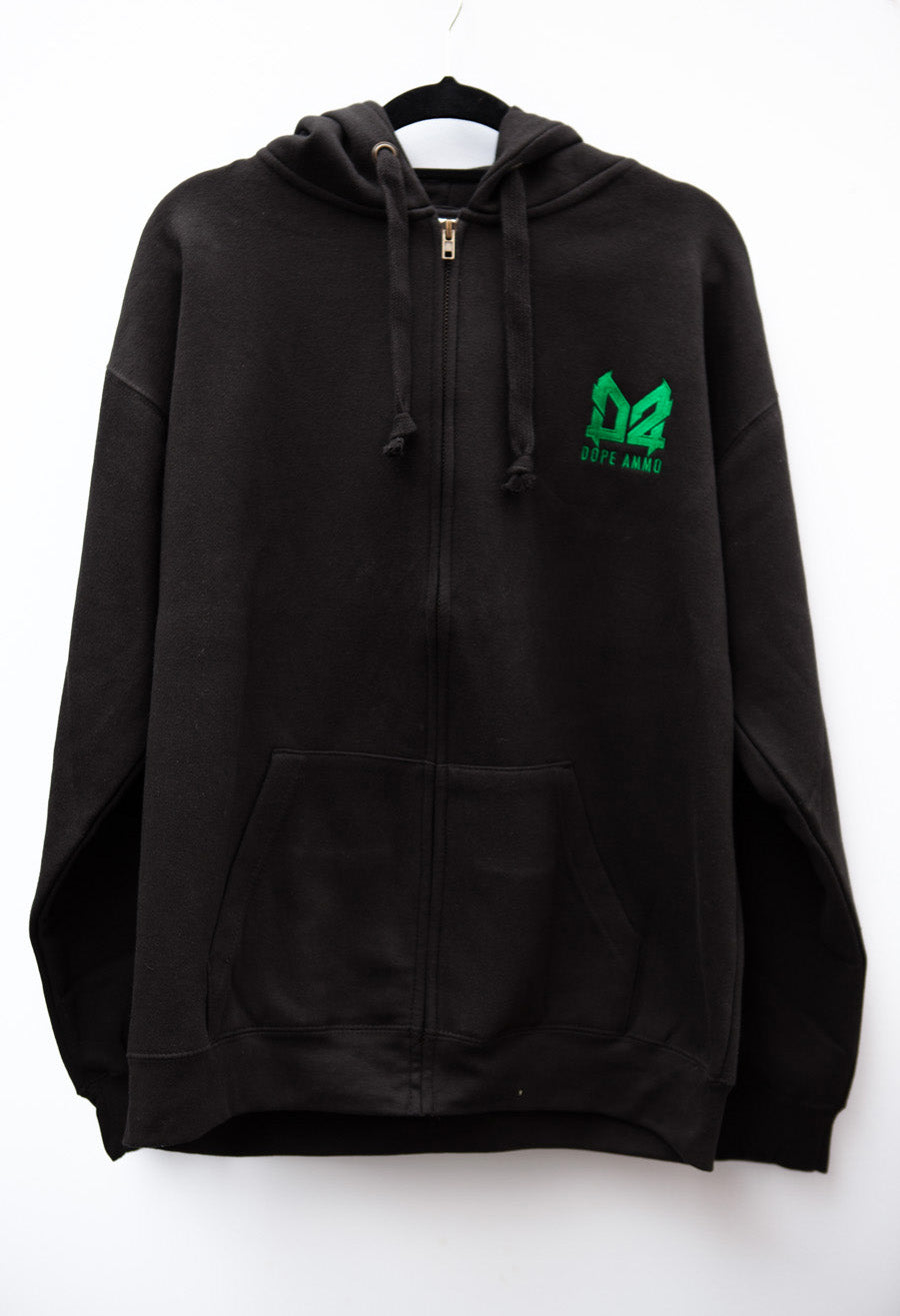Dope Ammo Zip-up Hoodie (Black)