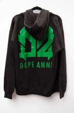 Load image into Gallery viewer, Dope Ammo Zip-up Hoodie (Black)