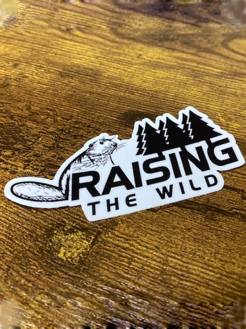 Raising The Wild Original Logo 4 inch Sticker