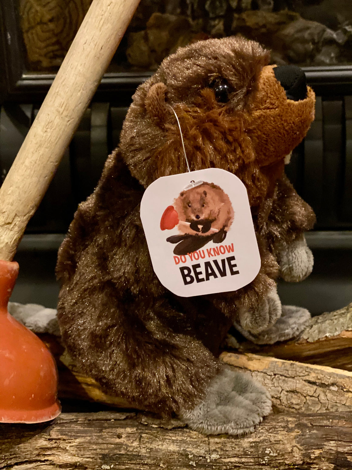 "Do You Know Beave 8"" Stuffed Beaver Plush"