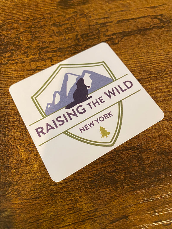 "Raising The Wild ""New Logo"" Sticker"