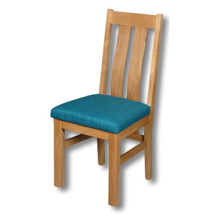 Elizabeth Twin Slat Oak Chair