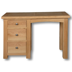 Richmond Oak 3 Drawer Dressing Table