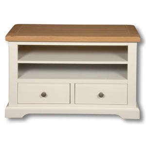 Rio Snow White Painted 2 Drawer TV Unit