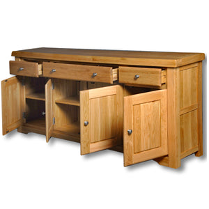 Manhattan Oak 2m Sideboard