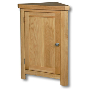 Richmond Oak 800mm Height Corner Cabinet