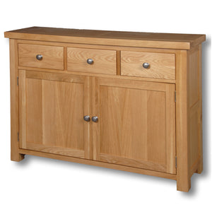 Richmond Oak 1150mm 2 Door Sideboard