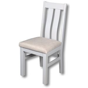Elizabeth Twin Slat White Painted Chair