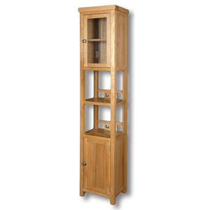 Richmond Oak Slim Jim Bathroom Cabinet