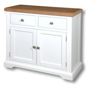 Rio Snow White Painted 3ft Sideboard