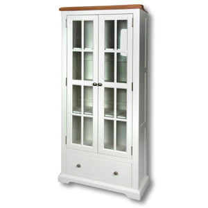 Rio Snow White Painted Large Bookcase