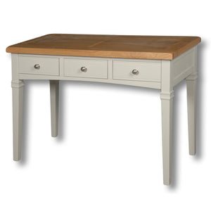 Rio Grey Painted 3 Drawer Dressing Desk