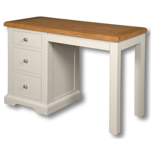 Rio Elephant Tusk Grey Painted Dressing Table