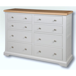 Rio Grey Painted 4 x 4 Wide Chest