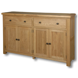 Manhattan Oak 2 Drawers 4 Door Sideboard