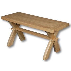 Richmond Oak 900mm Bench/Coffee Table