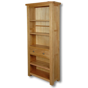 Richmond Oak 1 Drawer 6 x 2 Bookcase