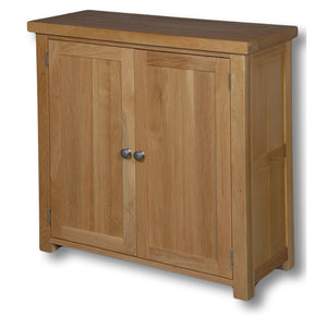 Richmond Oak 850mm Shoe Cabinet