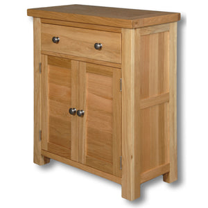 Richmond Oak 1 Drawer 2 Door Cabinet