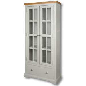 Rio Grey Painted Large Bookcase