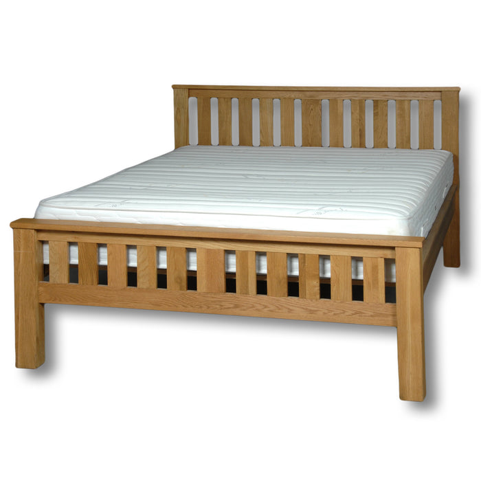 Manhattan Oak 6ft Super King Size Bed Frame
