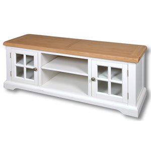 Rio Snow White Painted Widescreen TV Unit - SOLD OUT