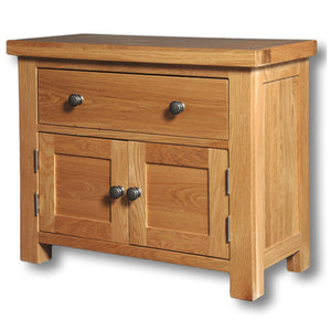 Richmond Oak 1 Drawer 2 Door Mini Chest