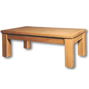 Richmond Oak 120 x 72 Fixed Top Coffee Table