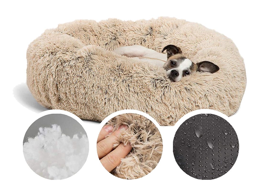 Iremia Dog Bed From Pets Planet is Washer & dryer friendly, Ultra Soft & With Non-slip Bottom