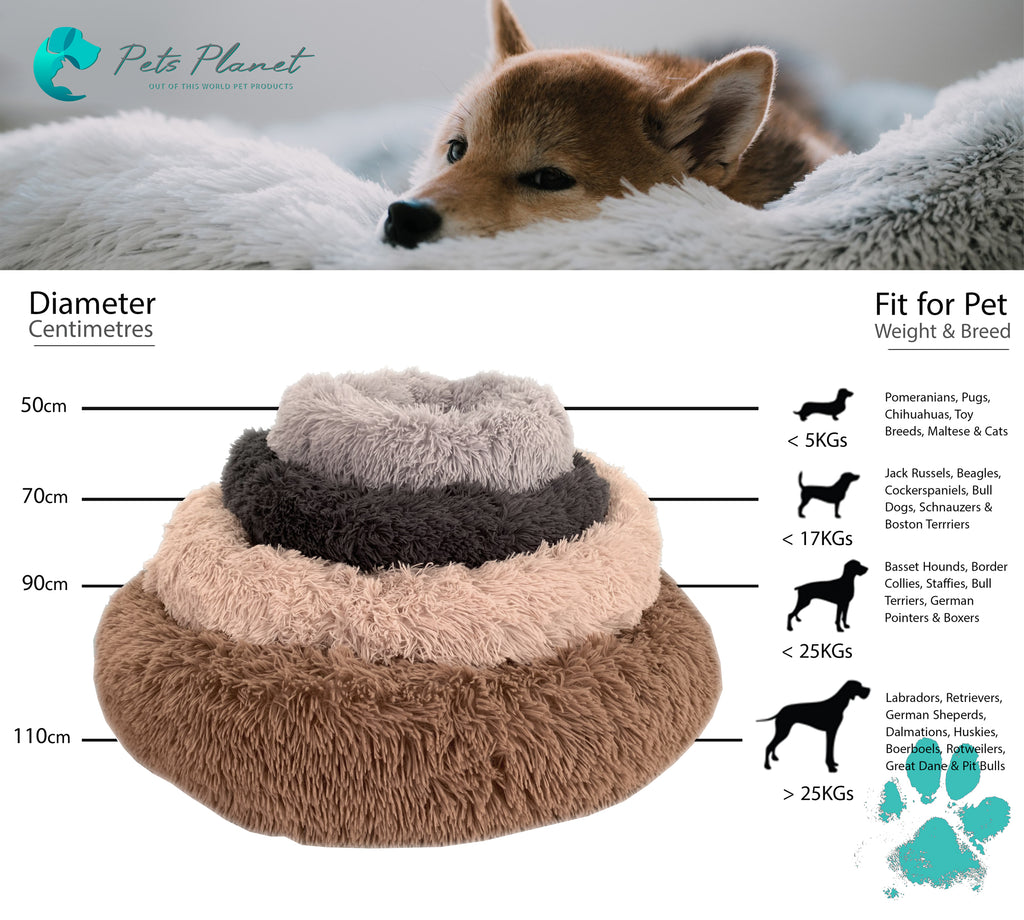 Pets Planet Iremía Pet Bed Sizing Guide