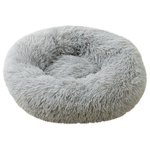 Load image into Gallery viewer, Light-Grey Iremía Pet Bed Product Image - Ultimate Extra Large Pet Set (Premium & Plush Iremía Pet Bed, Luxury Valgray Dog Collar & Luxurious Valgray Dog Leash) Combo From Pets Planet | SA's No.1 ePet Store for Premium Pet products, dog collars, dog leashes & pet beds
