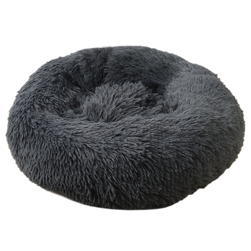 Charcoal Medium Iremía™ Luxurious & Plush Pet Bed From Pets Planet | South Africa's No.1 ePet Store for Pet products, dog peds, dog collars & dog leashes