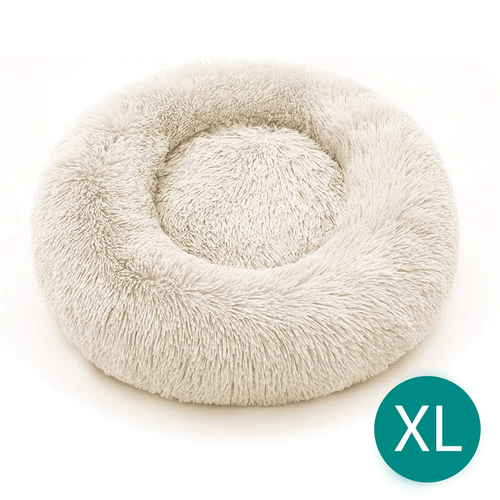 Cream Extra Large Iremía™ Luxurious & Plush Pet Bed From Pets Planet | South Africa's No.1 ePet Store for Pet products, dog peds, dog collars & dog leashes