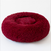 Load image into Gallery viewer, Red Velvet Medium Iremía™ Luxurious & Plush Pet Bed From Pets Planet | South Africa's No.1 ePet Store for Pet products, dog peds, dog collars & dog leashes