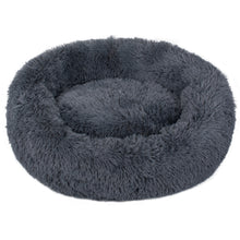 Load image into Gallery viewer, Charcoal Iremía Pet Bed Product Image - Ultimate Extra Large Pet Set (Premium & Plush Iremía Pet Bed, Luxury Valgray Dog Collar & Luxurious Valgray Dog Leash) Combo From Pets Planet | SA's No.1 ePet Store for Premium Pet products, dog collars, dog leashes & pet beds
