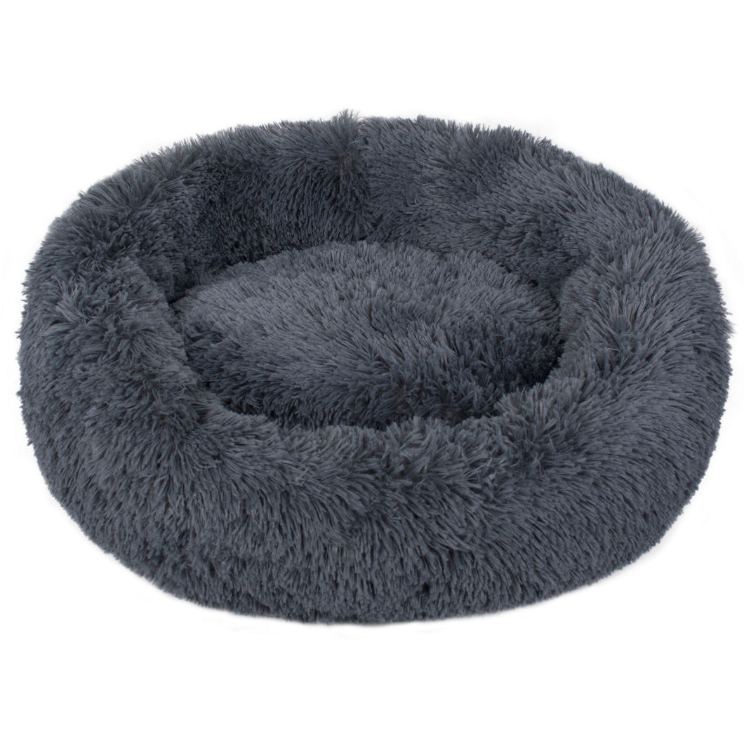 Charcoal Iremía Pet Bed Product Image - Ultimate Extra Large Pet Set (Premium & Plush Iremía Pet Bed, Luxury Valgray Dog Collar & Luxurious Valgray Dog Leash) Combo From Pets Planet | SA's No.1 ePet Store for Premium Pet products, dog collars, dog leashes & pet beds