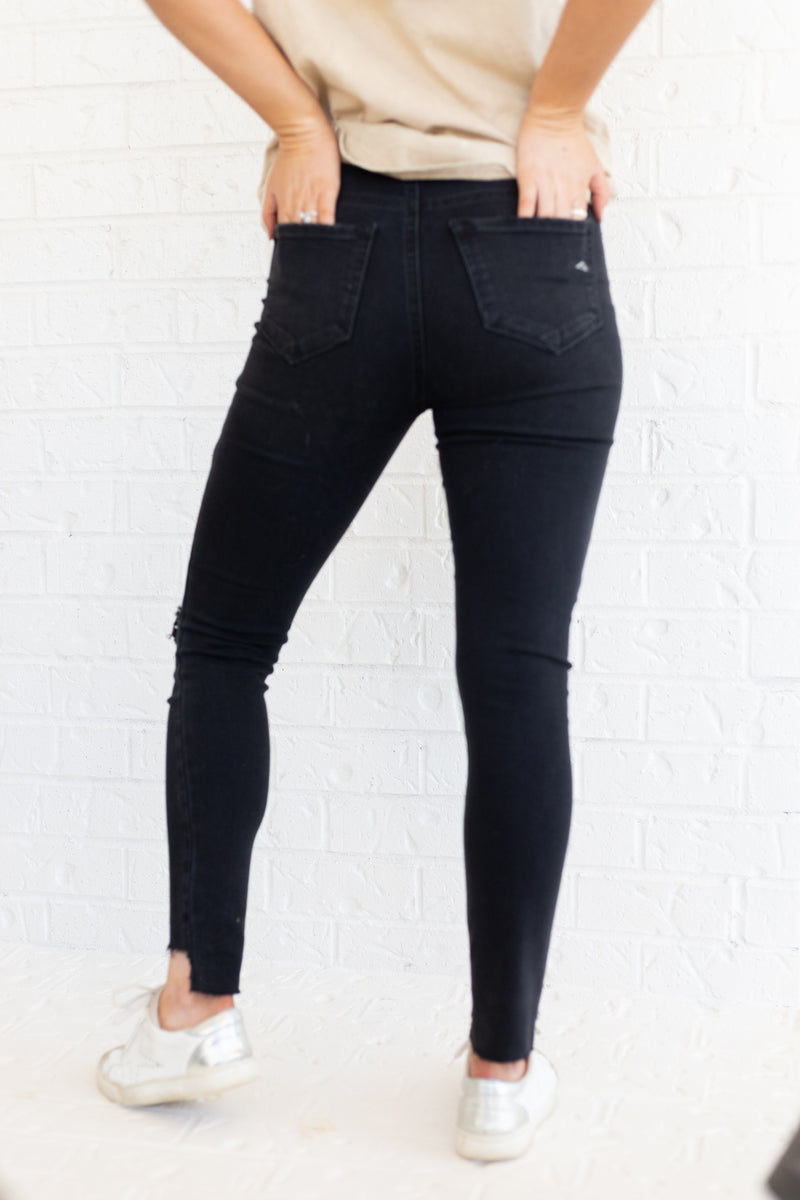 All Night Long Black Jeans