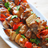 Honey-glazed Chicken Skewers