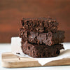 Fudgey Dark Chocolate Brownies