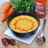 Spicy Coconut and Carrot Soup
